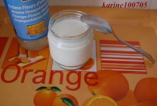 Yaourt à l'eau de fleur d'oranger Yaourt11