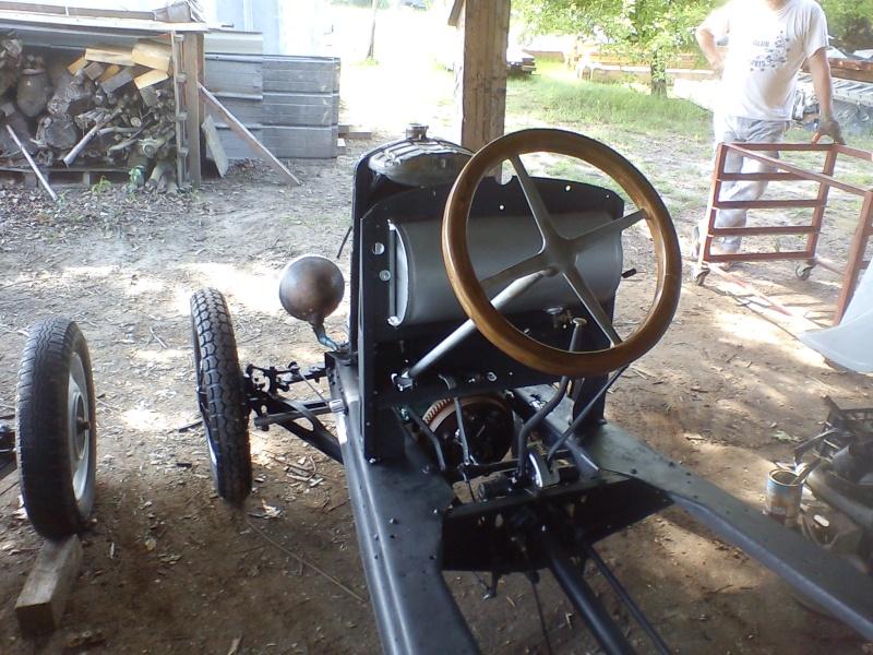 Construction d'un cyclecar Peugeot sur quadrilette 1928 03310