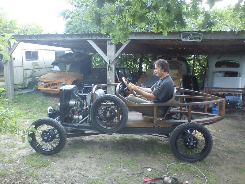 Construction d'un cyclecar Peugeot sur quadrilette 1928 16_06_10