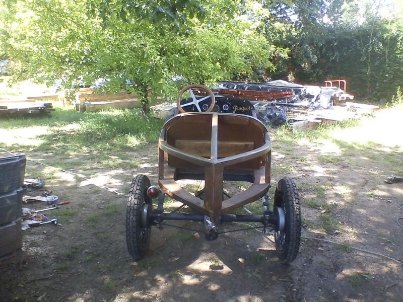 Construction d'un cyclecar Peugeot sur quadrilette 1928 16_06_13