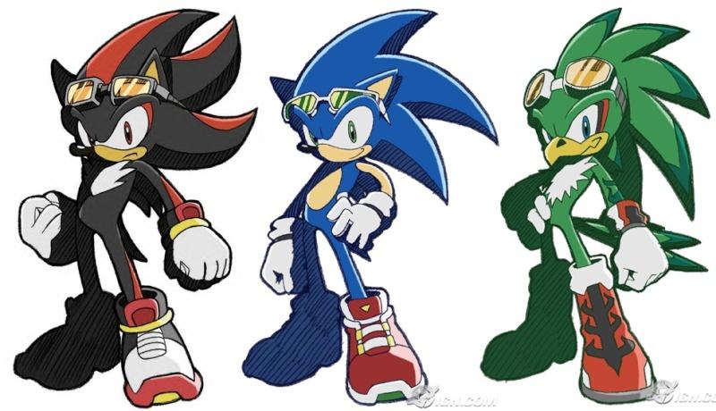 [b]Sonic Riders, el Anime[/b] Compar10