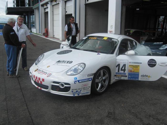 Cayman CUP Vs GT3 et Corvette Photo010