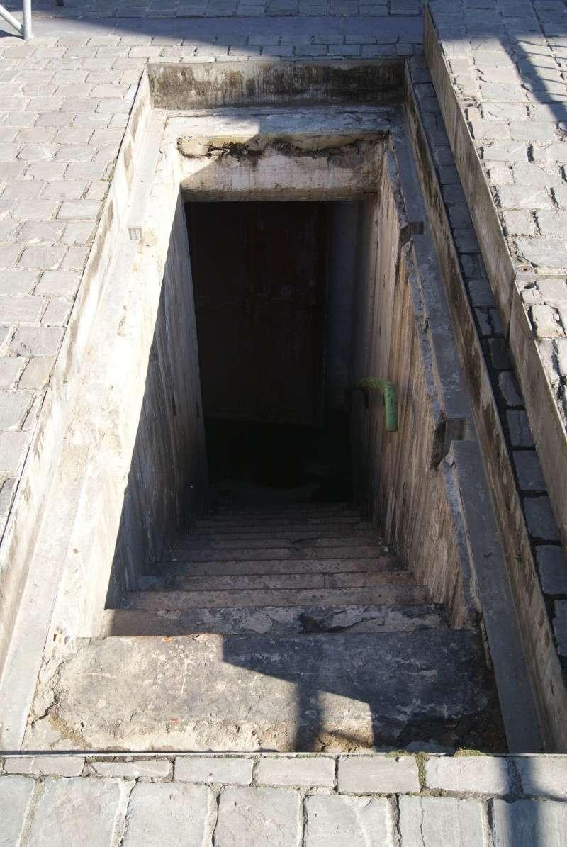 Abri anti-aérien de la DAP sous la grand-place de Tubize. 110