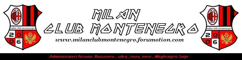 Milan club Montenegro