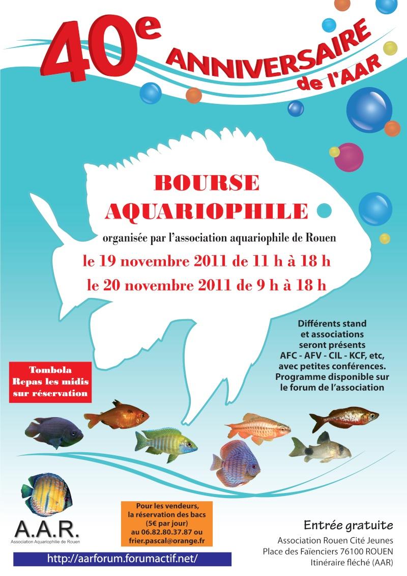 Bourse aquariophile de Rouen 2011 Affich10