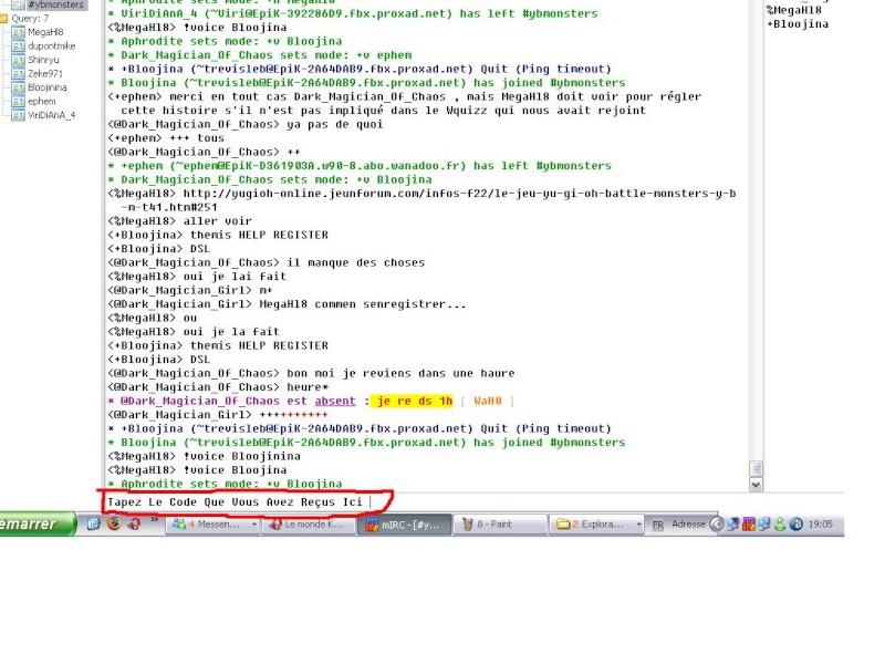 Comment Se Connecter Sur La chain De YBMonsters 910