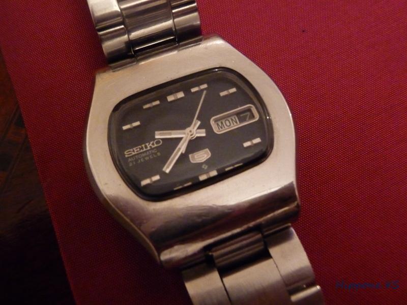 Ma dernière acquisition: une petite Seiko vintage des années 70'S P1070210