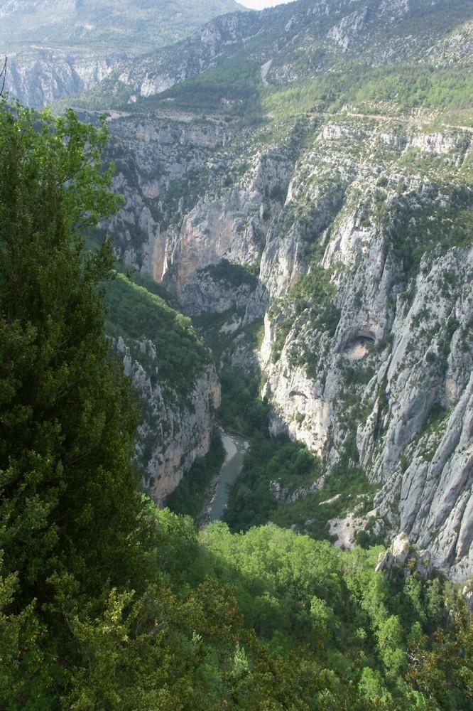 Gorges du Verdon à pédalo Gorges12
