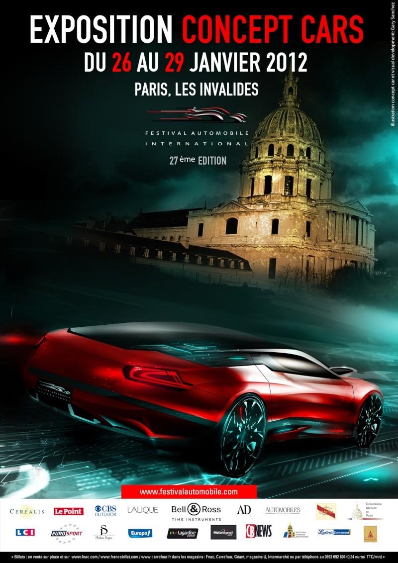 [EXPOSITION] Concepts car aux Invalides à Paris 2012 Affich12