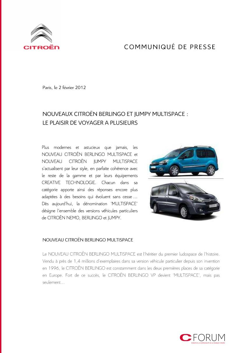[FACELIFT 2012] Citroën Berlingo [B09] - Page 2 Cp_ber10