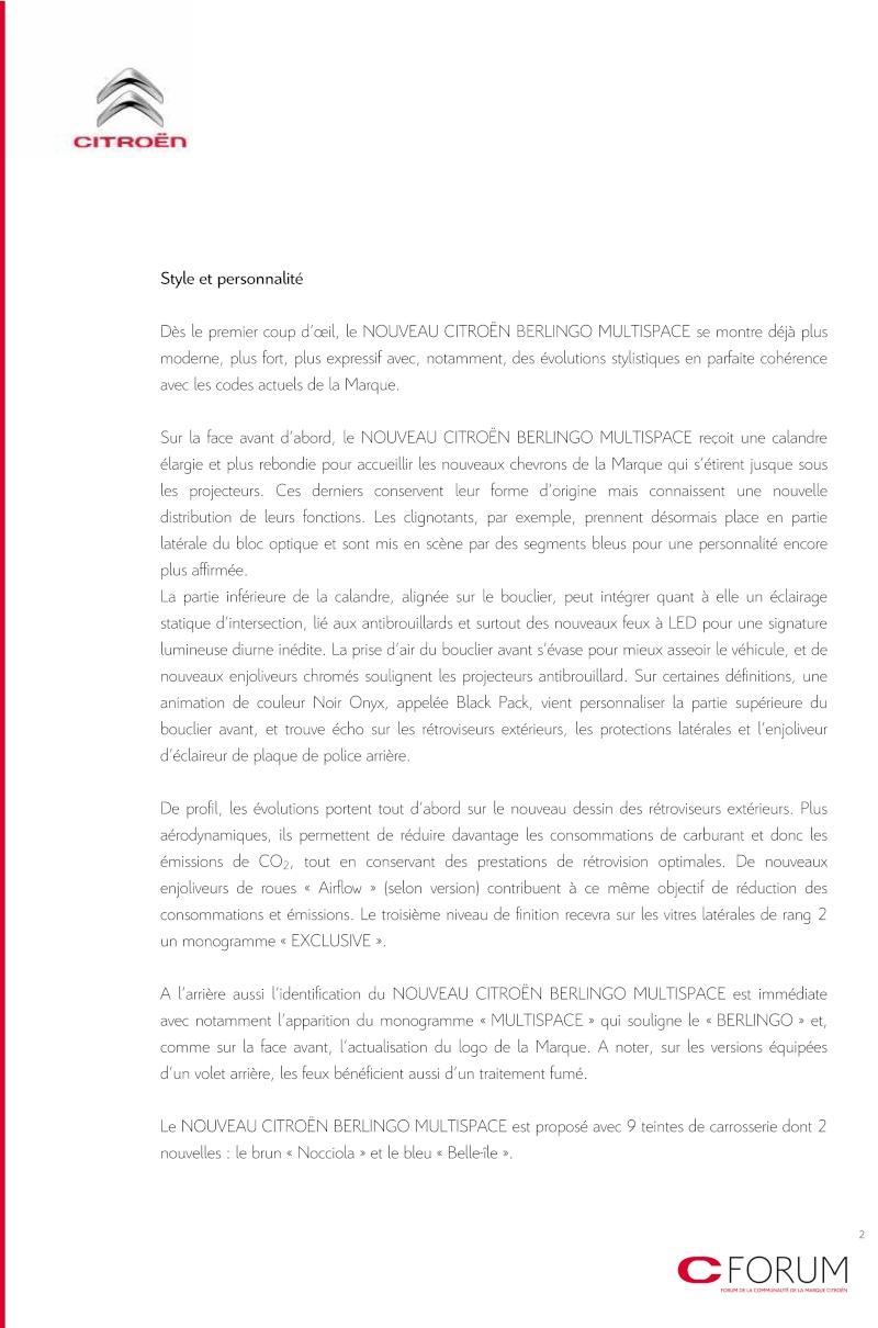 [FACELIFT 2012] Citroën Berlingo [B09] - Page 2 Cp_ber11