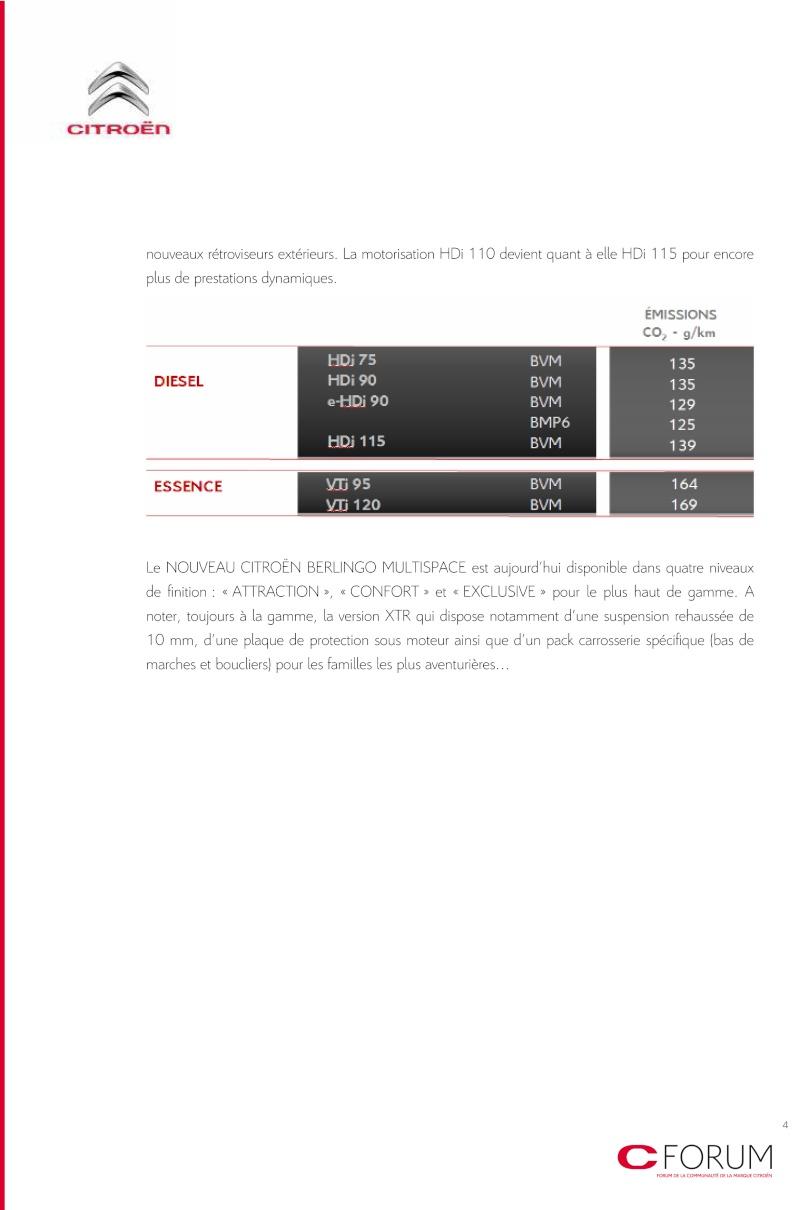 [FACELIFT 2012] Citroën Berlingo [B09] - Page 2 Cp_ber13