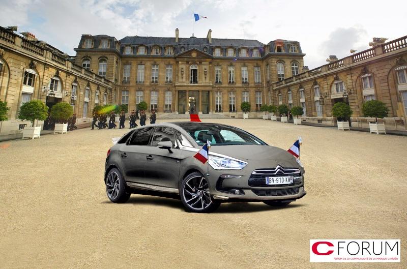 [EVENEMENT] La DS 5, voiture présidentielle - Page 5 Elysee10