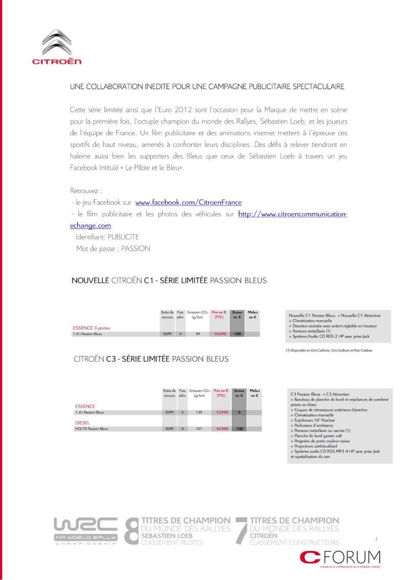[ACTUALITE] Les promotions de Citroën - Page 4 Passio11
