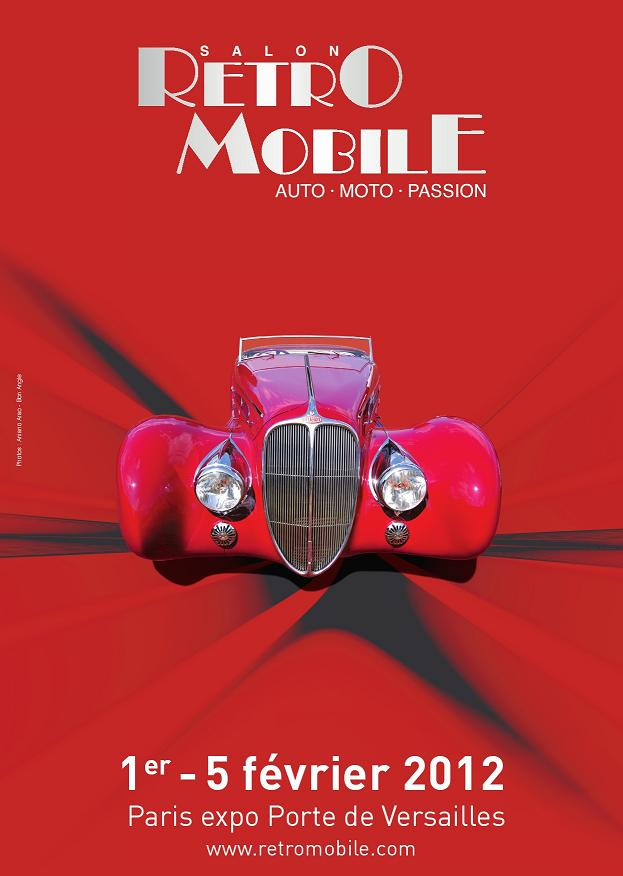 [SALON] Retromobile 2012 Visuel10