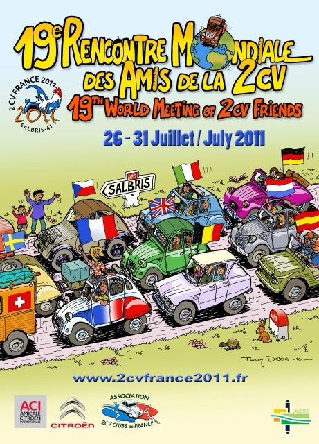 [EVENEMENT] 19ème rencontre Mondiale Amis 2CV - Salbris Xaffic10