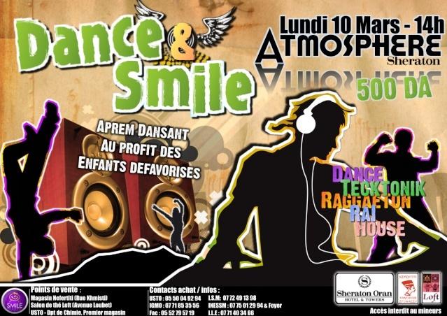 Dance & Smile :Sheraton le 10 mars a 14h Affich16
