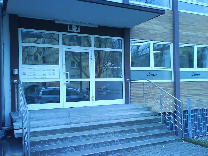 visite manufacture sinn - Visite chez Sinn Frankfurt am Main Dsc00010
