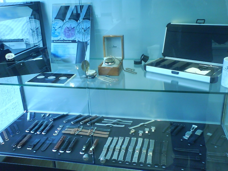 visite manufacture sinn - Visite chez Sinn Frankfurt am Main Dsc00013