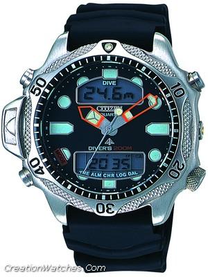 CITIZEN Aqualand 1 Diver's 200 JP2000-08E Jp101010