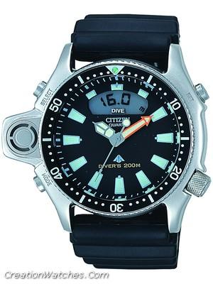 CITIZEN Aqualand 1 Diver's 200 JP2000-08E Jp200010