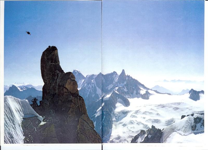 1990/1995 - Ovni sur l'aiguille du midi-  massif du Mont-Blanc (74) - Page 3 Aiguil10
