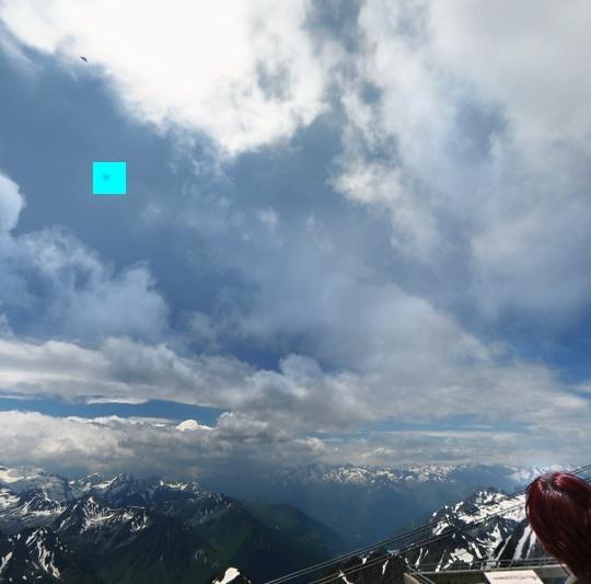 1990/1995 - Ovni sur l'aiguille du midi-  massif du Mont-Blanc (74) Imdfgr11
