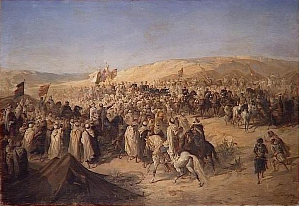 La Visite de NAPOLEON III à AIN M'LILA en 1865 2ème partie 014_gr10