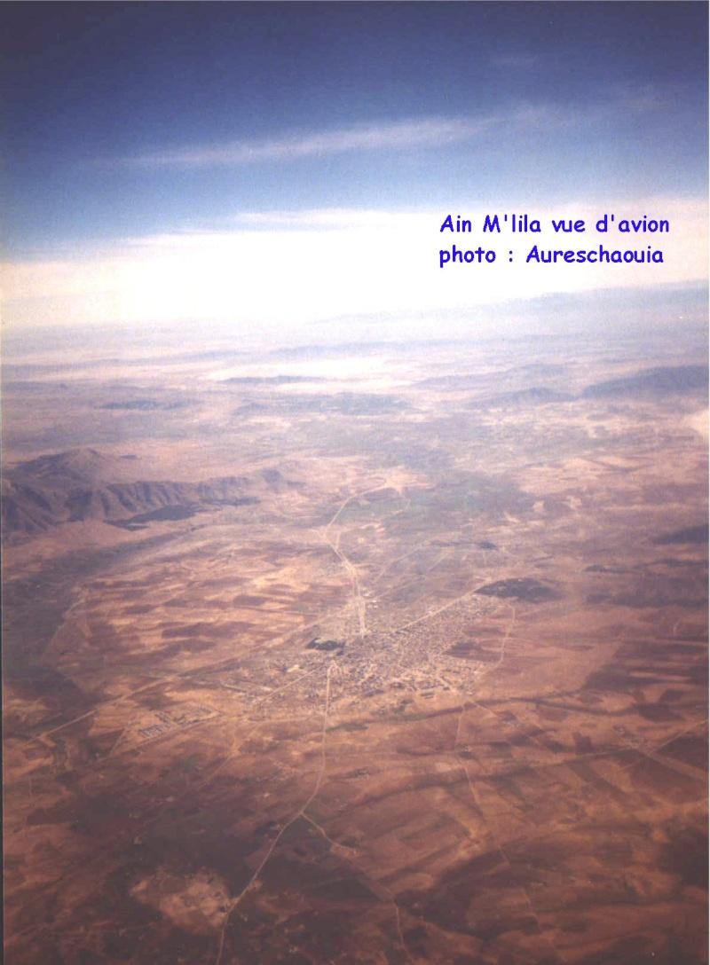 Une photo exclusive Ain M'lila vue d Avion Mlilap10