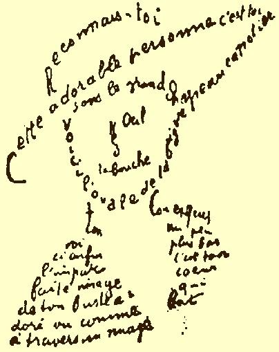 Poésie, typographie et graphisme (poésie graphique) A3919