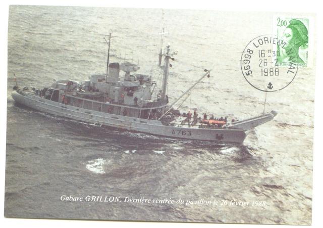 GRILLON (GABARE) Aa220
