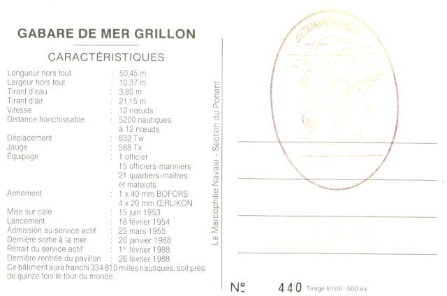 GRILLON (GABARE) Aa222