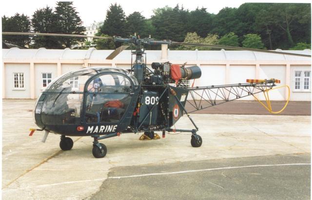 [Aéronavale divers] Hélicoptére ALOUETTE 2 - Page 2 Aaa37