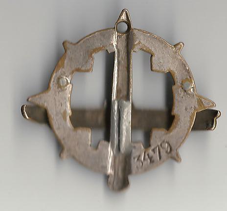 [ Logos - Tapes - Insignes ] Collection de rubans légendés de sous-marin et brevets SM Ac_00124
