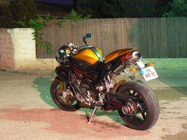 canneton et sa café racer 2007 P1060211