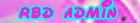 ~#RBD Admin#~