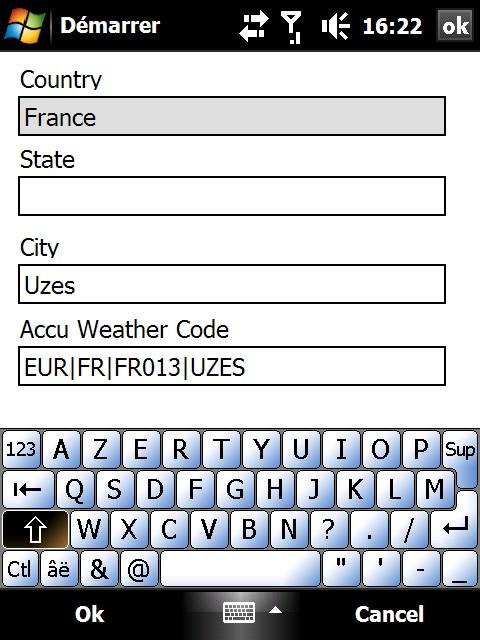 Ajouter très facilement votre ville dans la météo de votre Diamond Screen54