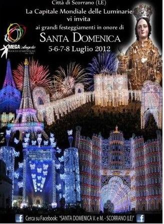 Scorrano (LE) - festa di Santa Domenica Immagi13