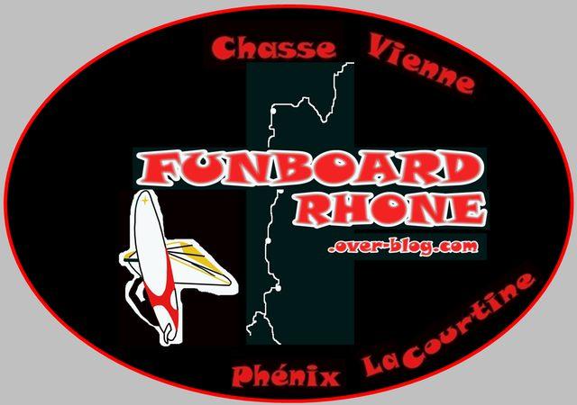 Un logo pour Funboard Rhône Logo10