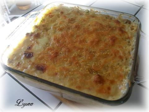 Courge spaghetti au saumon Courge12