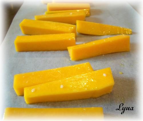 Frites au four de courge butternut (courge musquée) Frites12
