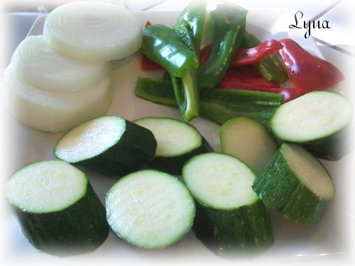 Zucchinis grillés bbq Lagume10