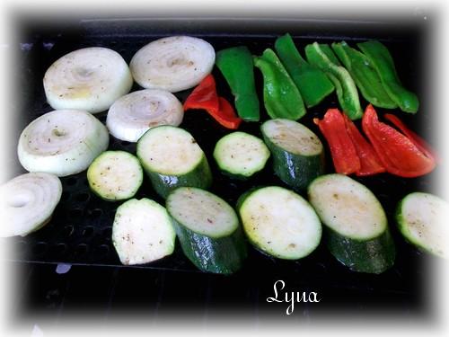 Zucchinis grillés bbq Lagume11