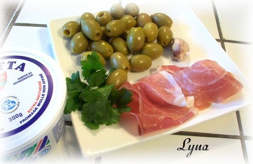 Olives frites, farcies au prosciutto et ricotta Olives10