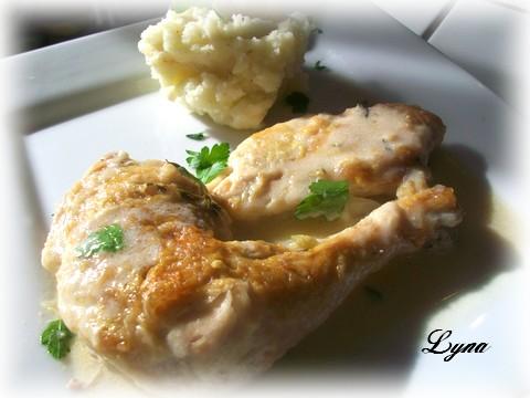 poulet sauce moutarde Poulet15