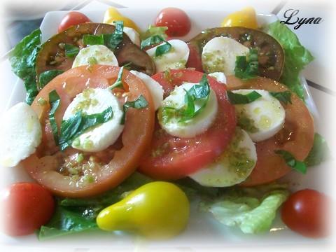 Salade tomates et bocconcini Salade13