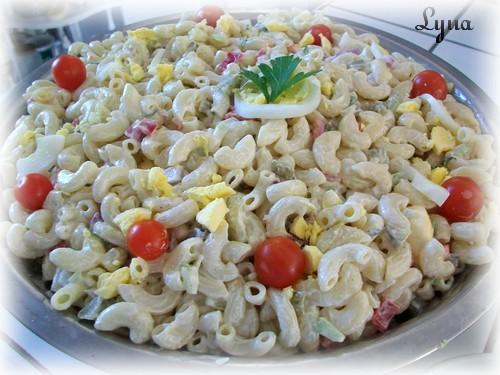 Salade de macaroni (grosse quantité pour buffet) Salade18