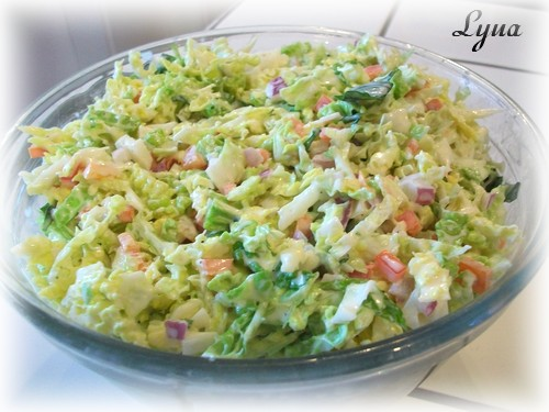 Salade de chou de Savoie Salade21