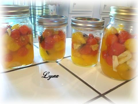Tomates cerises marinées Tomate14