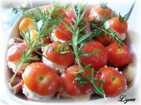 Tomates confites à la ricotta  Tomate15